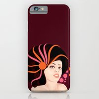 iPhone & iPod Case featuring Snail Lady by Dambar Thapa