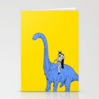 Dinosaur B Stationery Cards
