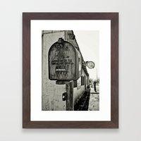 Mailbox  Framed Art Print