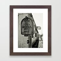 Mailbox  Framed Art Print