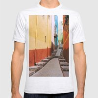 Guanajuato Mens Fitted Tee Ash Grey SMALL