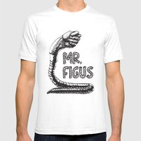 Figus Mens Fitted Tee White SMALL