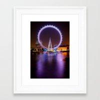 Framed Art Print featuring Circle of Light by dTydlacka