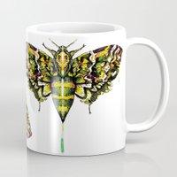 Exhotic Moth Mug