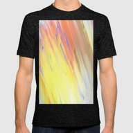 Paperwork Mens Fitted Tee Tri-Black SMALL