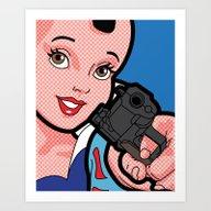 You Talking To Me Art Print