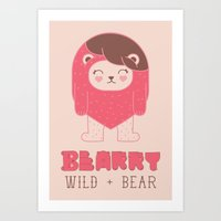 BEARRY Art Print
