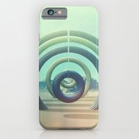 iPhone Cases featuring Intervention 18 by Viviana Gonzalez