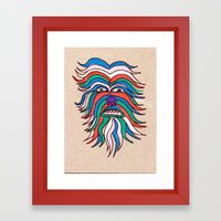 whacky wookie Framed Art Print