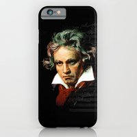 Beethoven - Music Demon iPhone 6 Slim Case