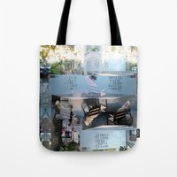 Summer space, smelting selves, simmer shimmers. [extra, 9] Tote Bag