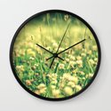 My Heart Was Wrapped in Clover (the night I looked at you) Wall Clock