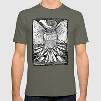 Happy Bird Mens Fitted Tee Lieutenant SMALL