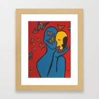 SKIN DEEP  (ORIGINAL SOLD) Framed Art Print
