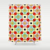 Embellecimiento Pattern Shower Curtain