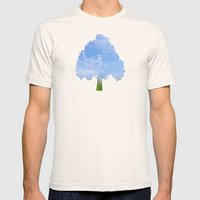 Summer day Mens Fitted Tee Natural SMALL