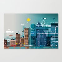 Back to the future ... Canvas Print