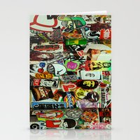 Stationery Card featuring Stickerz  by RAIKO IVAN雷虎