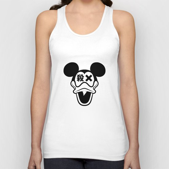 Mickey Duck Unisex Tank Top
