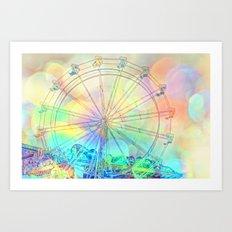 The Dream Weaver... Art Print