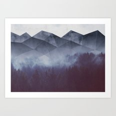Winter Glory Art Print