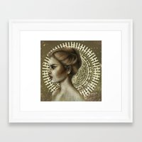 Sensual and Rational Framed Art Print