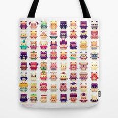 Alphabear Tote Bag