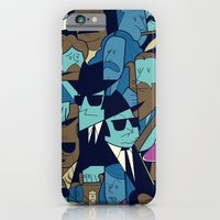 iPhone Cases featuring The Blues Brothers by Ale Giorgini