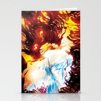 A Dragon Taught me Fire Stationery Cards