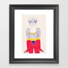 Unevenness Framed Art Print