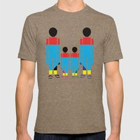 Familly Mens Fitted Tee Tri-Coffee SMALL