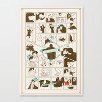 The Reichenbach Fall Gui… Canvas Print