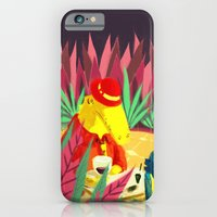 iPhone & iPod Case featuring an encounter by mloyan