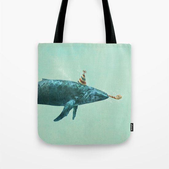 Party Whale  Tote Bag