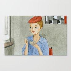 Bonjour tristesse Canvas Print