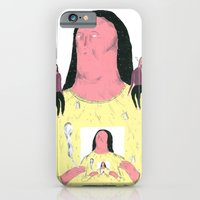 iPhone & iPod Case featuring droste effet by mariana, a miserável(the miserable one)