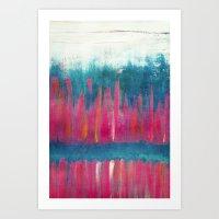 Colour Play II Art Print