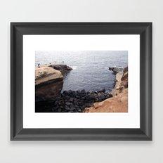 Sunset Cliffs, San Diego Framed Art Print