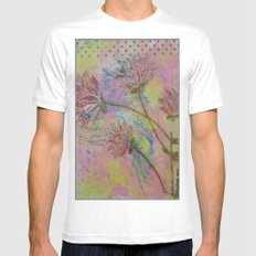 Spring Into Life SMALL Mens Fitted Tee White