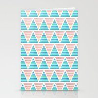 Mixed Aztec Pattern Stationery Cards