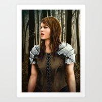 Forest Knight Art Print