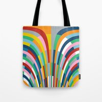 Rainbow Bricks Tote Bag