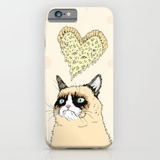 Grumpy Pizza Love iPhone 6s Slim Case
