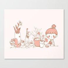 Little Garden Canvas Print