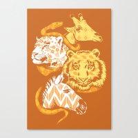 Animal Prints Canvas Print
