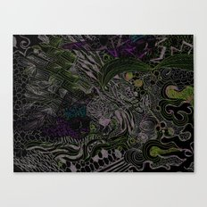It's a Jungle Out There Canvas Print