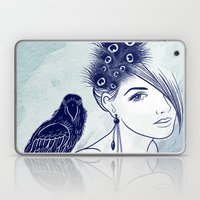 Parrot Girl Laptop & iPad Skin