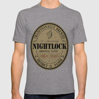 Lovely day for a Nightlock Mens Fitted Tee Athletic Grey SMALL