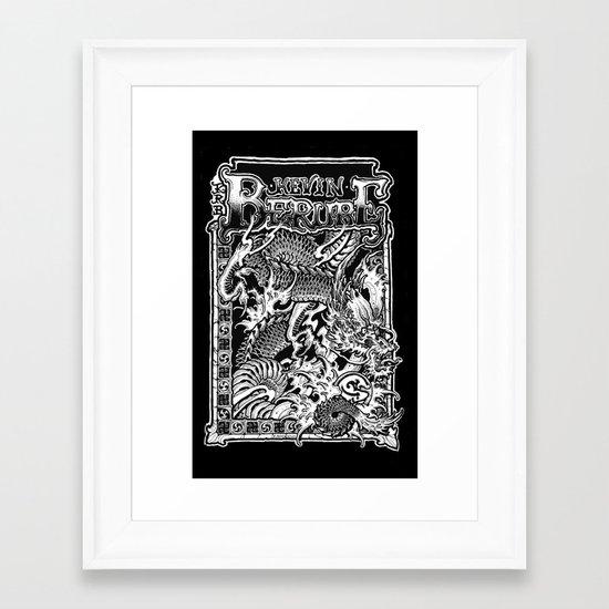 banner Framed Art Print