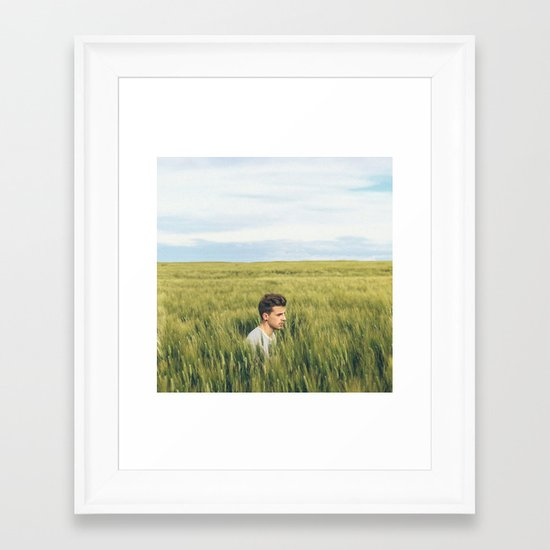 How far you can see? pt.2 Framed Art Print
